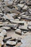Resti di una pietra con acqua Fotografia Stock Libera da Diritti