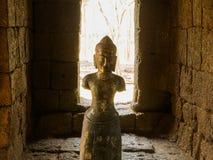 Resti di uno stile di khmer della costruzione Immagini Stock