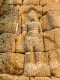 Resti di uno stile di khmer della costruzione Fotografia Stock