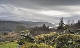 Resti frequentante del distretto di Arichonan in Scozia Fotografia Stock Libera da Diritti