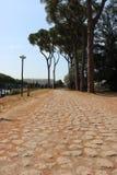 Resti - ROMA - Italia romani - sitio arqueológico romano Foto de archivo libre de regalías