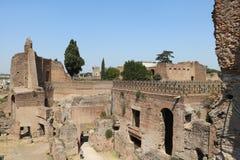 Resti - ROMA - Italia romani - sitio arqueológico romano Imagenes de archivo