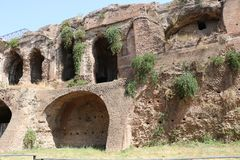 Resti romani - ROMA - Italia - Roman archaeological site Royalty Free Stock Photography