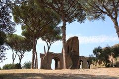 Resti romani - ROMA - Italia - Roman archaeological site. Wonderful views Royalty Free Stock Photos