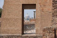 Resti romani - ROMA - Italia - Roman archaeological site Royalty Free Stock Images