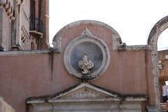 Resti romani - ROMA - Italia - Roman archaeological site. Wonderful views Stock Image