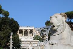 Resti romani - ROMA - Italia - Roman archaeological site. Wonderful views Stock Photo