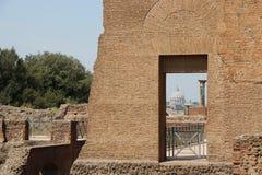 Resti romani - ROMA - Italia - Roman archaeological site Stock Photo