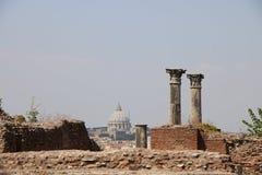 Resti romani - ROMA - Italia - Roman archaeological site Royalty Free Stock Photo