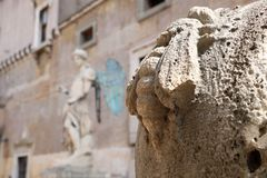 Resti romani - ROMA - Italia - Roman archaeological site. Wonderful views Stock Photos