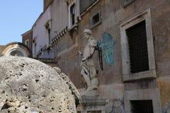 Resti romani - ROMA - Italia - Roman archaeological site. Wonderful views Stock Photography