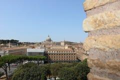Resti romani - ROMA - Italia - Roman archaeological site. Wonderful views Royalty Free Stock Photography