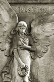 Resting angel Royalty Free Stock Image