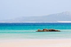 Resting on the beach. Herradura beach. tropical coast, granada, andalusia, spain Stock Images