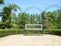 Beautiful Rundale palace park, Latvia Stock Image