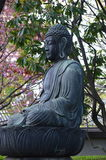 Resting buddha. Buddha statue on the temple grounds Stock Photography