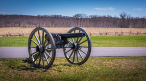 Resting Cannon Royalty Free Stock Photos