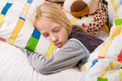 Resting child Stock Image