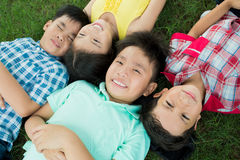 Resting children Royalty Free Stock Photography