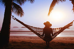 Resting in comfort Royalty Free Stock Image