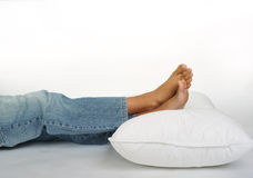 Resting concept Royalty Free Stock Photos