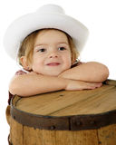 Resting Cowgirl Stock Photography