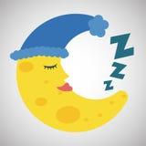 Resting design. sleep icon. bedtime concept, vector illustration Stock Photos