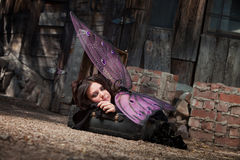 Resting Fairy Royalty Free Stock Image