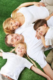 Resting family Stock Photography