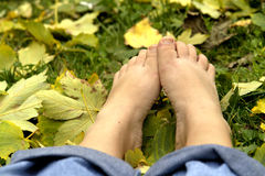Resting Feet Royalty Free Stock Photo