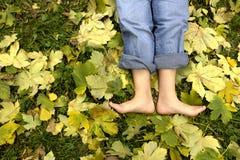 Resting Feet stock photos