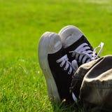 Resting Feet Royalty Free Stock Photo