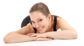 Resting fitness woman Royalty Free Stock Photography