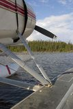 Resting float plane Royalty Free Stock Photo