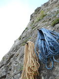 Resting half ropes Royalty Free Stock Image