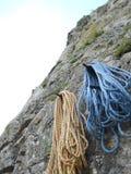 Resting half ropes Royalty Free Stock Image