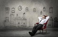 Resting at home Royalty Free Stock Images