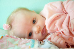 Resting Infant Stock Photo
