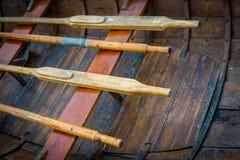 Resting Oars Stock Photo