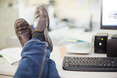Resting at office Royalty Free Stock Photography
