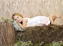 Resting outside Stock Photo