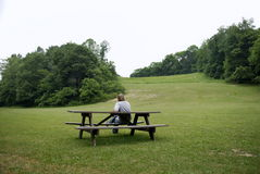 Resting in the Park Stock Image