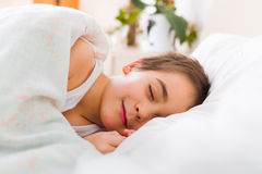 Resting peacefully Royalty Free Stock Photo