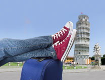 Resting in Pisa Royalty Free Stock Photo