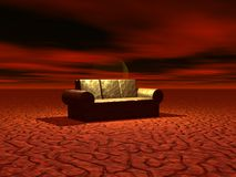 Resting Place. A resting place for the end of the world Stock Photography