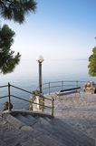 Resting place Mediterranean Royalty Free Stock Photos