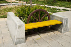 Resting place in the park, the rest of the seat Royalty Free Stock Photography