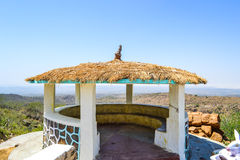 Resting place on top of the mountain. Near the great rann of kutch royalty free stock images