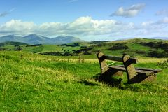 Resting point on Hoad Hill Royalty Free Stock Photos