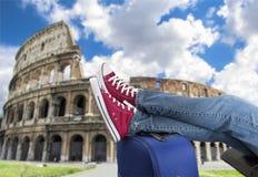Resting in Rome Stock Photo